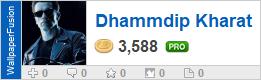 Dhammdip Kharat's profile on WallpaperFusion.com