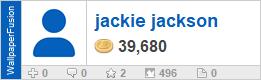 jackie jackson's profile on WallpaperFusion.com