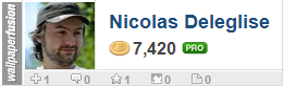 Nicolas Deleglise's profile on WallpaperFusion.com