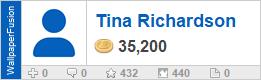 Tina Richardson's profile on WallpaperFusion.com