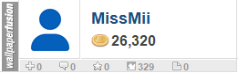 MissMii's profile on WallpaperFusion.com