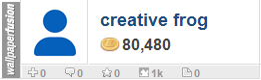 creative frog's profile on WallpaperFusion.com
