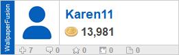 Karen11's profile on WallpaperFusion.com