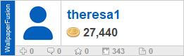 theresa1's profile on WallpaperFusion.com