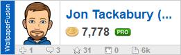 Jon Tackabury's profile on WallpaperFusion.com